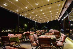Kasina kod Ajduka - prostor restorana - terasa