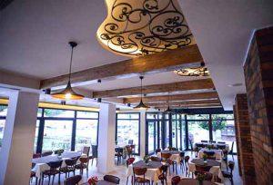 Kasina kod Ajduka - prostor restorana