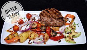 Biftek na zaru - restoran Kasina, Veliko Gradiste