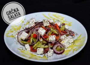 Grcka salata - restoran Kasina u Gradistu